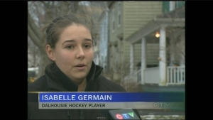 CTV Atlantic: Dalhousie hockey team breaks