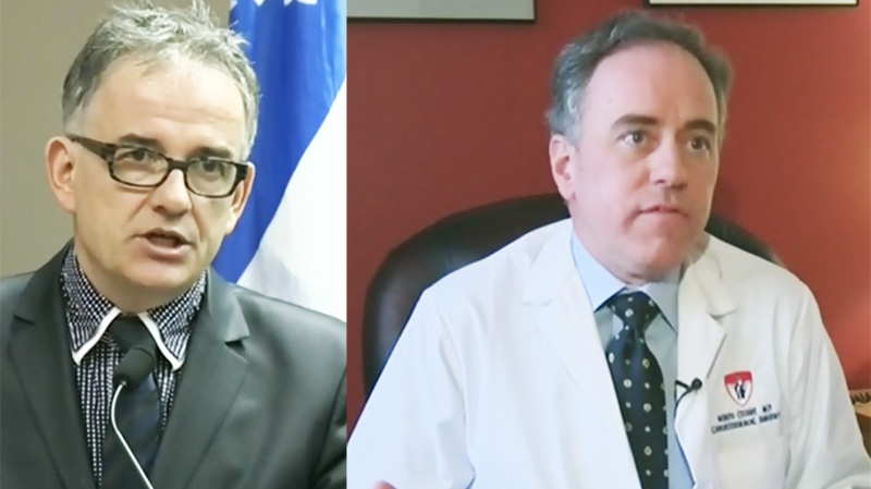 Quebec Health Minister Rejean Hebert's plan to switch the Lachine Hospital out of the MUHC network was assailed by the MUHC's Renzo Cecere, among others.