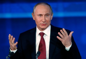 Russian President Vladimir Putin. (AP Photo / Alexander Zemlianichenko)