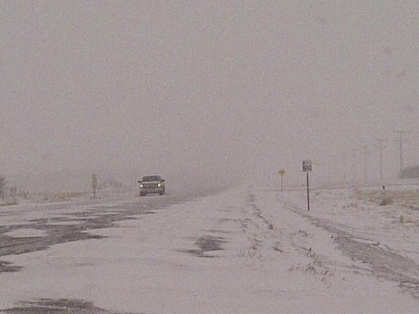 Winter conditions and blowing snows made road dangerous in Saskatchewan