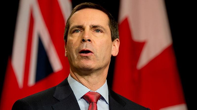 Ontario Premier Dalton McGuintin speaks to reporters in Toronto on Friday January 11, 2013. (Frank Gunn / THE CANADIAN PRESS)
