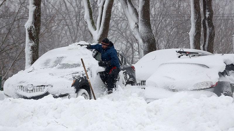 Newfoundland Snow Storm