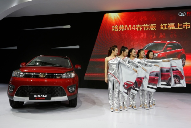 At the Guangzhou 2012 Auto Show.