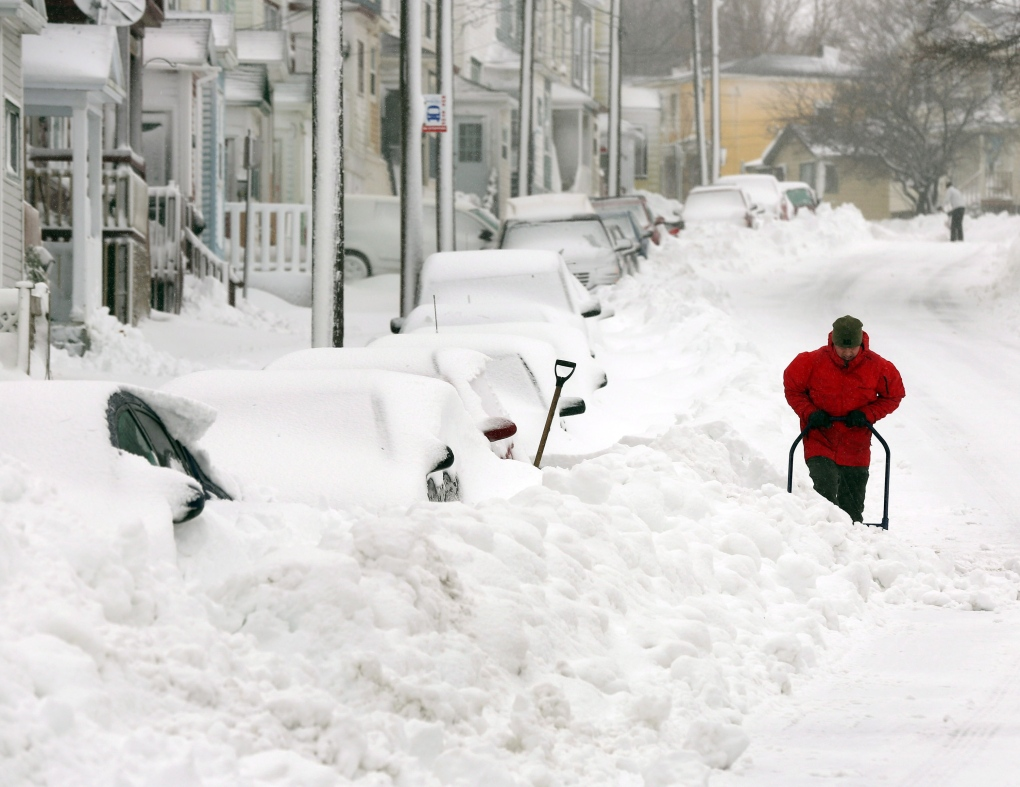 Massive Winter Storm Hits Newfoundland Ctv News
