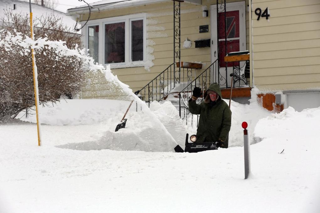 massive winter storm hits newfoundland ctv news. Black Bedroom Furniture Sets. Home Design Ideas
