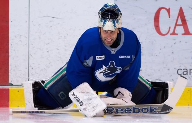 Roberto Luongo Vancouver Canucks
