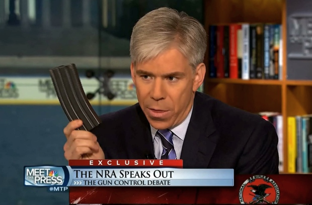 "NBC's ""Meet the Press"" host David Gregory"