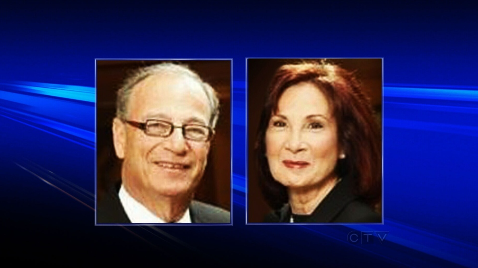The bodies of David Pichosky, 71, and Rochelle Wise, 66, were discovered by a neighbour on Thursday, Jan. 10, 2013.