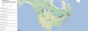 Idle No More map