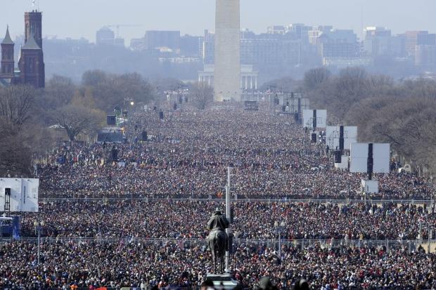 Obama inauguration Canada