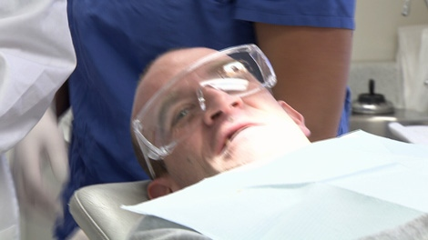 A one-chair dental clinic in Vancouver�s Downtown Eastside will provide pain management and infection control to the city�s neediest citizens. December 16, 2010. (CTV)