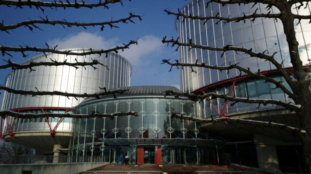Outside view of the European Court of Human Rights, in Strasbourg, eastern France, Thursday Dec. 16, 2010. (AP / Christian Lutz)