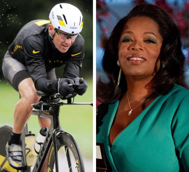 Lance Armstrong Oprah