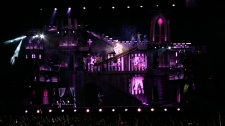 Lady Gaga stage in Vancouver