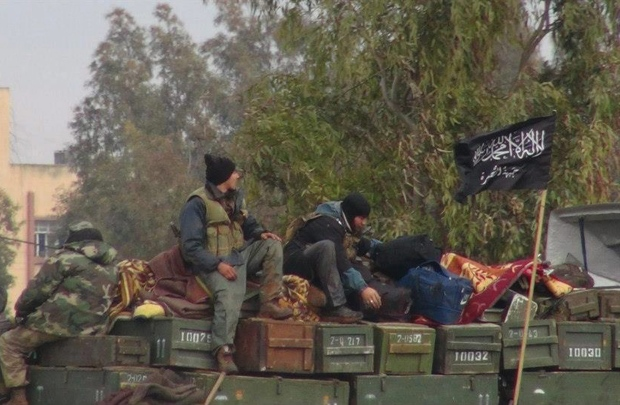 Rebels from al-Qaida affiliated Jabhat al-Nusra