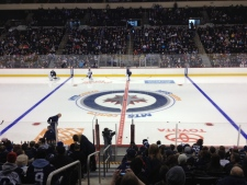Winnipeg Jets open practise