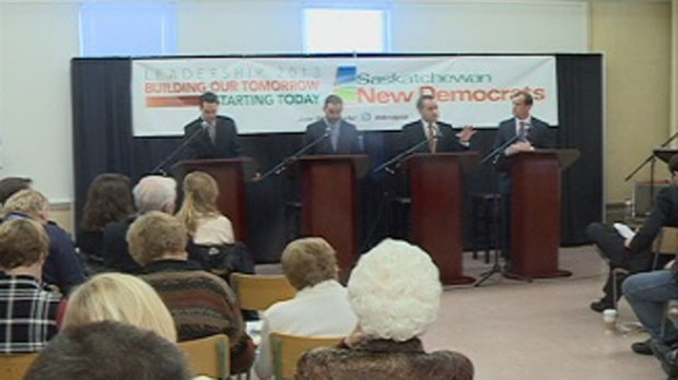 NDP debate in Rosetown