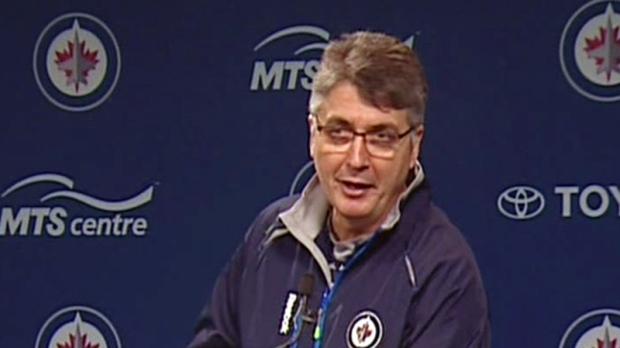 CTV Winnipeg: Coach Claude Noel talks training