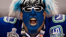Vancouver Canucks fan
