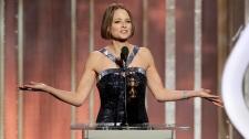 Jodie Foster at Golden Globes