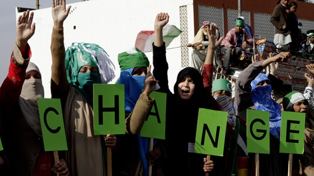 Cleric supporters rally Pakistan