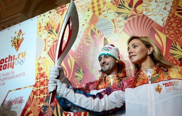Sochi 2014 torch