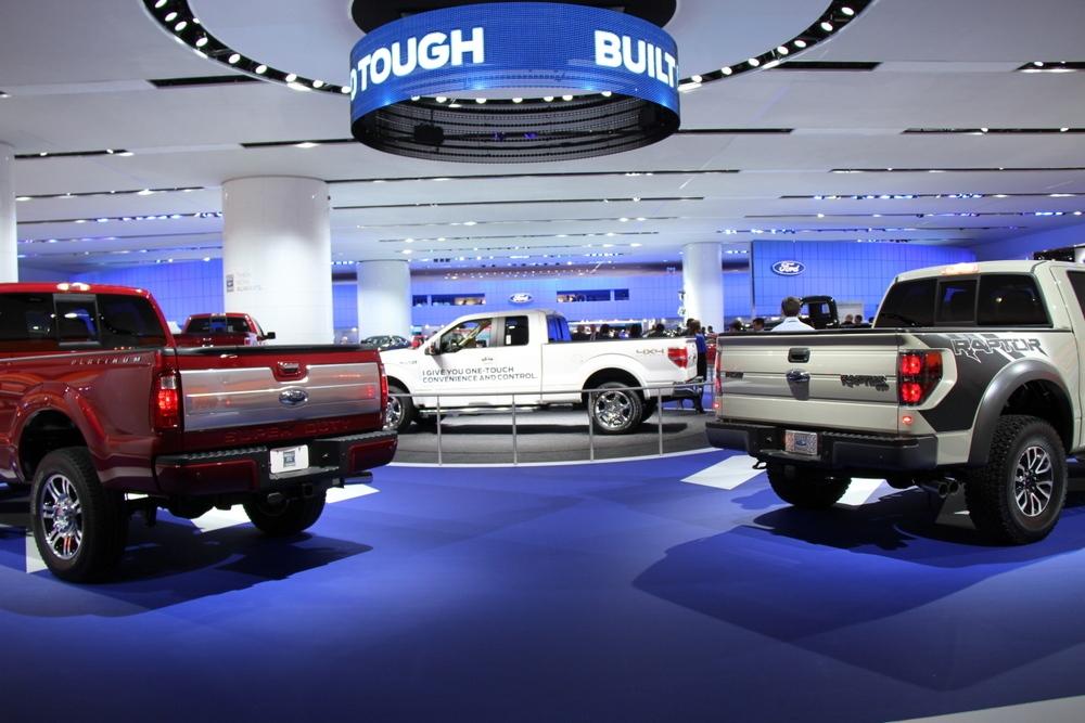 Ford display at NAIAS