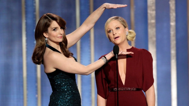 Fey, Poehler win big at Golden Globes