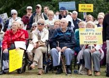 Nortel pensioners