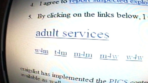 Craigslist pulls sex ads in Canada | CTV News Toronto