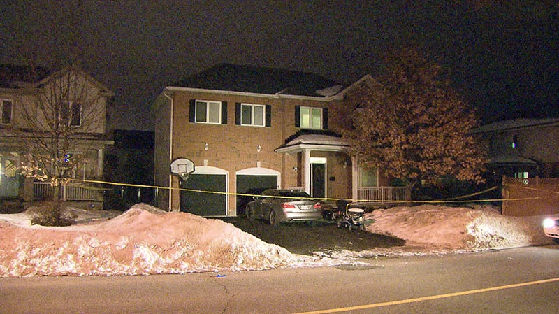 A woman and two children were found dead in this Stittsville, Ont. home on Monday, Jan. 14, 2013.