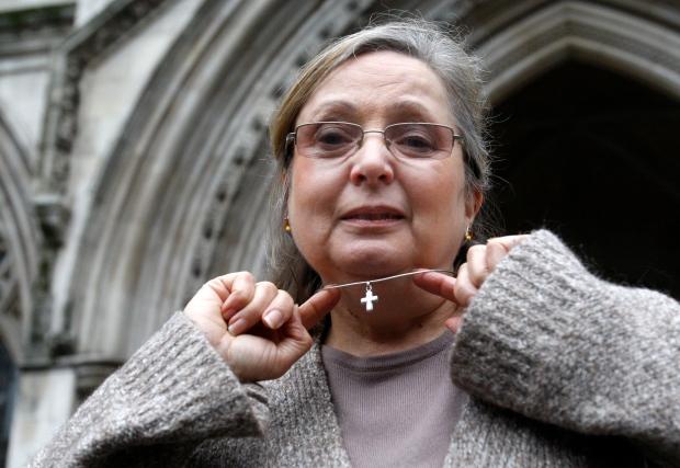 Nadia Eweida on Jan. 19, 2010.