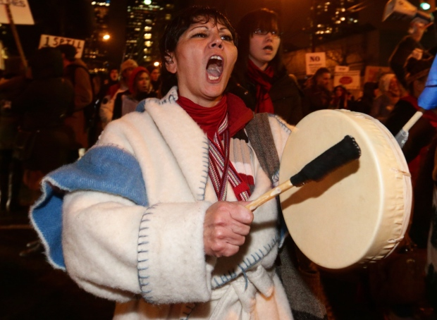 Idle No More protests Vancouver First Nations