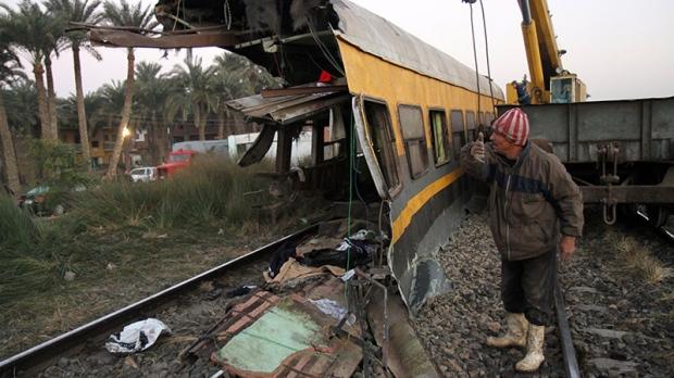 Train crash Egypt
