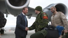 Canadian forces head to Mali C-17
