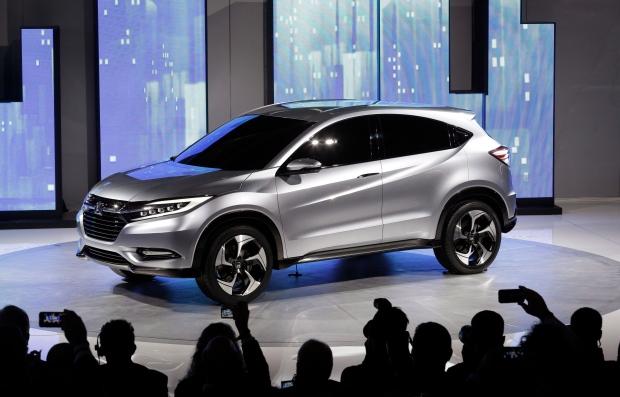 New Honda SUV Detroit auto show