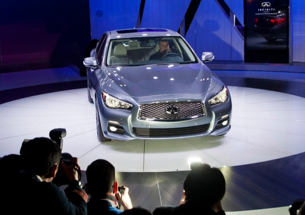 Detroit Auto Show Q50 new Infiniti Q Cirque