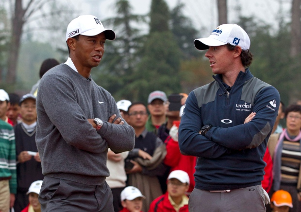 Woods and McIlroy
