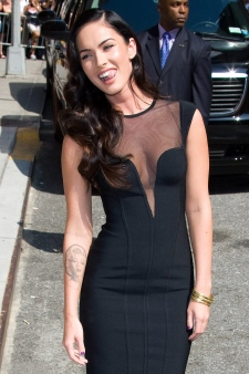 Megan Fox removes Marilyn Monroe tattoo