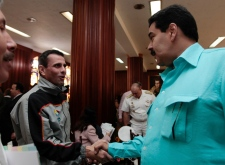 Chavez treated for a severe respiratory infection