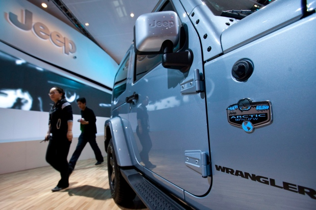 Deal signed to build Jeeps in China