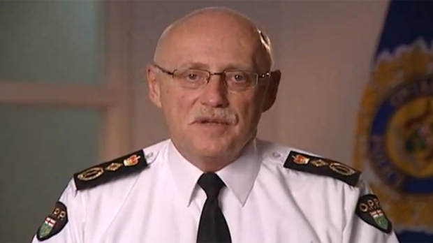OPP commissioner Chris Lewis defends police