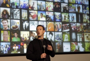 In this file photo, Facebook CEO Mark Zuckerberg speaks at Facebook headquarters in Menlo Park, Calif., on Jan. 15, 2013. (AP / Jeff Chiu)