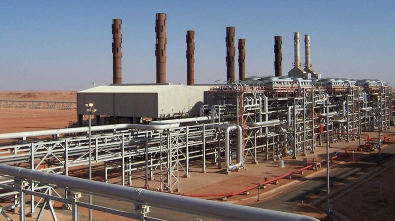 The Amenas natural gas field in the eastern central region of Algeria was raided by Islamist militants who took hostages on Wednesday, Jan. 16, 2013. (BP)