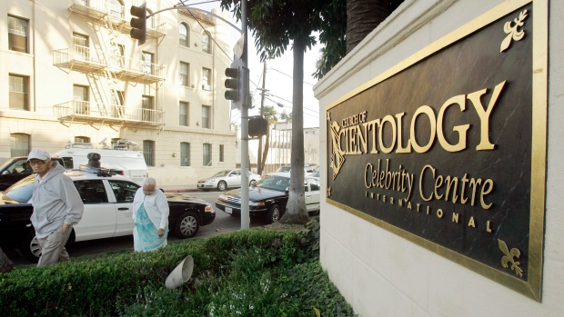 U.S. couple sues over donations to Scientologists