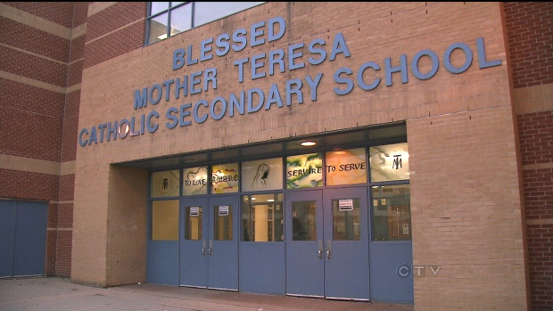 Loaded gun found at Toronto school