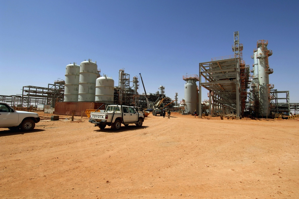 The Ain Amenas gas field in Algeria where Islamist militants raided and took hostages Wednesday Jan. 16, 2013, is shown in April 19, 2005.  (Kjetil Alsvik, Statoil via NTB scanpix)