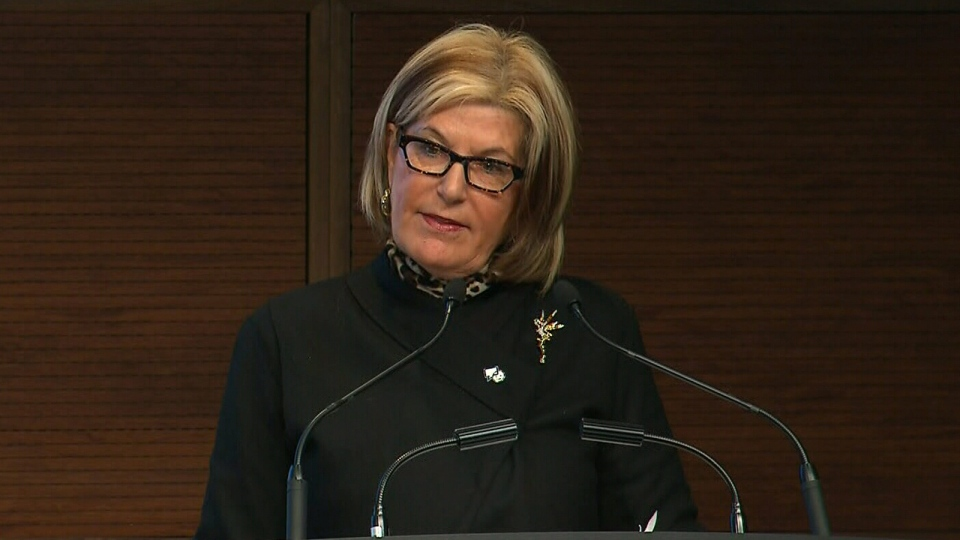 Mental Health Commission of Canada President and CEO Louise Bradley explains that one in five Canadian workers fight mental illness, on Wednesday, Jan. 16, 2013.