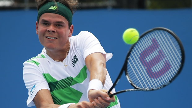 Milos Raonic Lukas Rosol Australian Open tennis