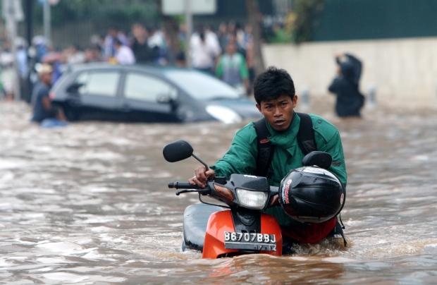Jakarta, Indonesia on Jan. 17, 2013.